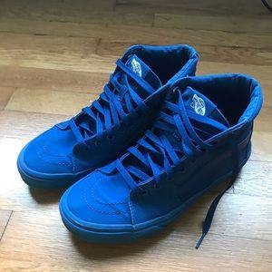 Vans Shoes | All Blue Vans Old Skool